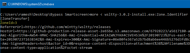bypass smartscreen even if policy enabled