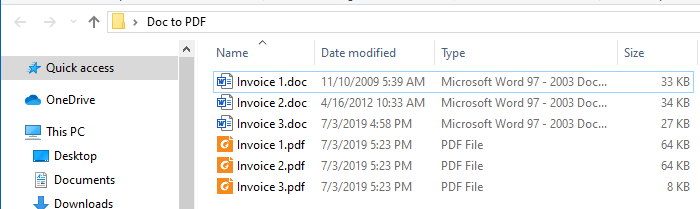 batch convert word documents to pdf