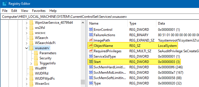 windows update error error 0x80070422