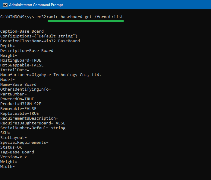 How to Find the Motherboard Make and Model Number in Windows