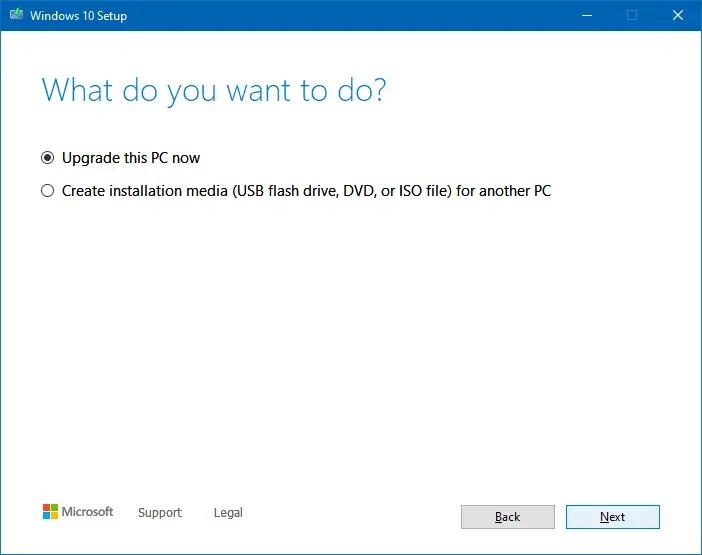 windows update error 0xc1900223 in windows 10 MCT