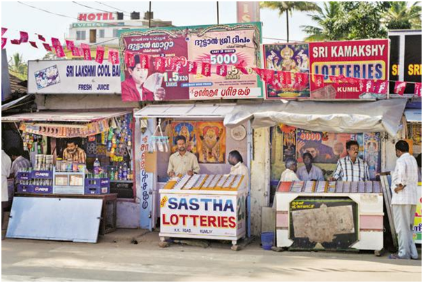 GST on lotteries