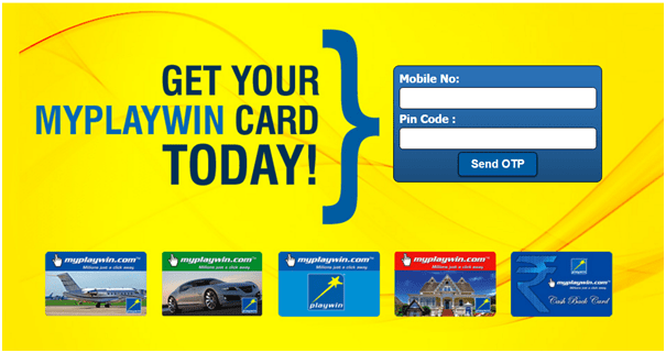 Playwin Lotto Card Pay