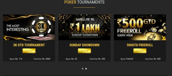 Poker Lion Tournaments