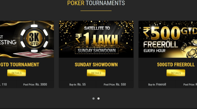 Poker Lion Tournaments
