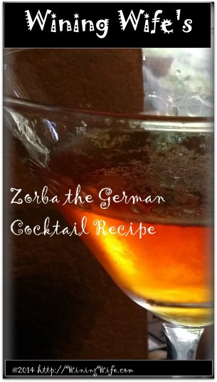 Zorba the German cocktail recipe