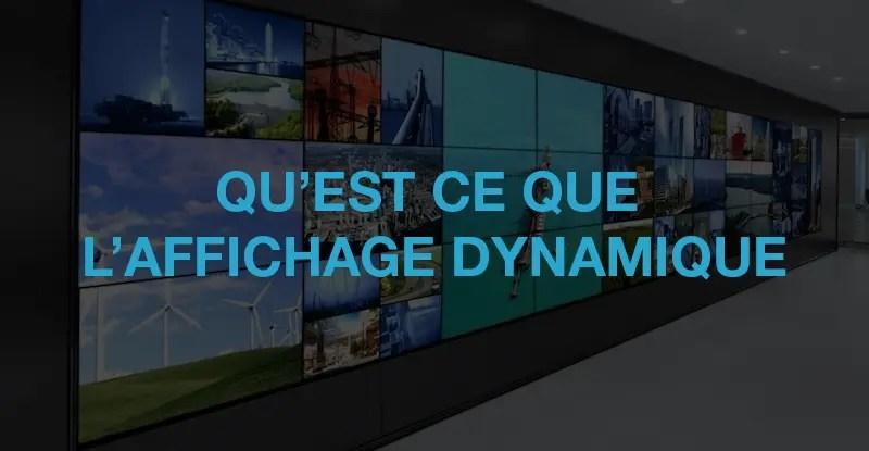 banner affichage dynamique
