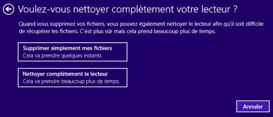 Comment formater Windows 8 (2)