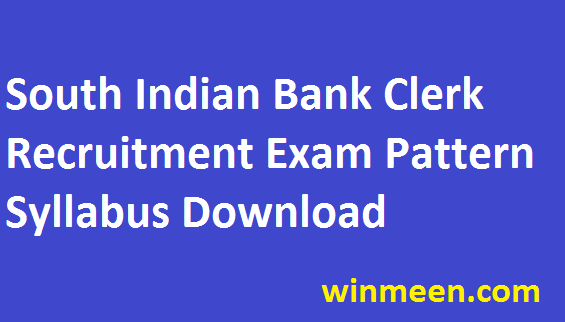 """South Indian Bank Probationary Clerk Recruitment Exam Pattern Syllabus Previous Paper Download 2016 South Indian Bank have announced the 10 post recruitment for the Probationary Clerk Post. Bank Career seekers have already spied the news of recruitment and many completed the application procedures. The last date for the recruitment registration is scheduled detailed in the official notification. Only the registered candidates are allowed to participate in the recruitment rounds. As the first stage of recruitment is of written examination. To guide you with right information and knowledge on bank exams we have updated you the detailed syllabus along with the examination pattern for the South Indian Bank Recruitment. Check details of the South Indian Bank Probationary Clerk Recruitment Exam Pattern Syllabus Previous Paper Download 2016. <div class=""""e3lan e3lan-in-post1""""><script async src=""""//pagead2.googlesyndication.com/pagead/js/adsbygoogle.js""""></script> <!-- 300x25017012018 --> <ins class=""""adsbygoogle""""      style=""""display:inline-block;width:300px;height:250px""""      data-ad-client=""""ca-pub-3313366937885229""""      data-ad-slot=""""3142011194""""></ins> <script> (adsbygoogle = window.adsbygoogle 