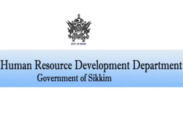 Sikkim HRDD TET Notification Application Form 2017