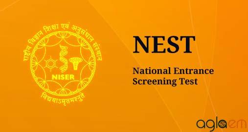 NISER NEST 2017 Notification