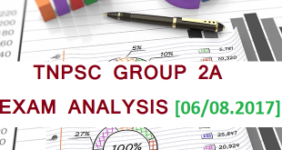 Tnpsc Group 2A Cutoff Marks Result Counselling Details 2017 Exam Analysis