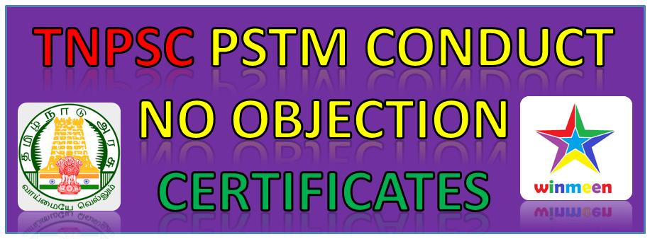 Conduct Certificate Format Tamil Nadu Pdf Download