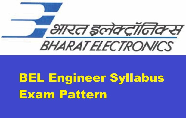BEL Engineer Syllabus Exam Pattern