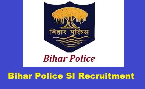 Bihar Police SI Recruitment