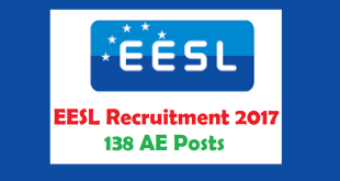 EESL Recruitment 2017 138 AE Posts