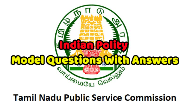 Indian Polity Model Questions With Answers Pdf Download