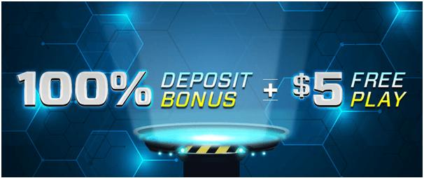 100% Deposit Bonus