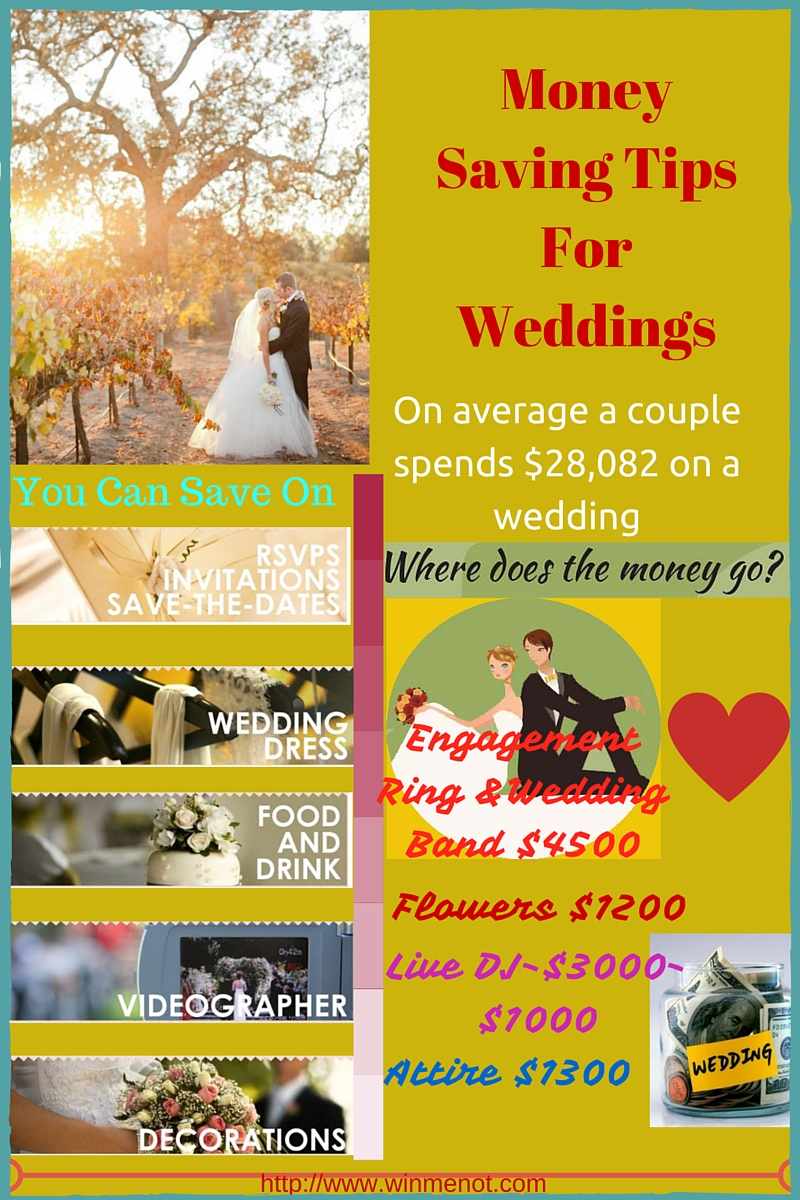11 Time and Money Saving Tips for Wedding Infographic