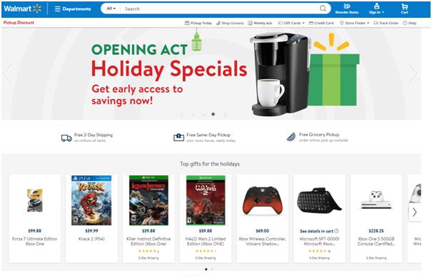 Black Friday deals with Walmart