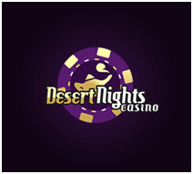 20 Free spins on slots at Desert Nights Casino Bonus