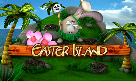 Ways to celebrate easter in your budget and save moneywinmenot easter island is 25 lines over 5 reels of fun and adventure place where tribal bunnies live and play they pinch the colorful easter eggs of the fat little thecheapjerseys Gallery