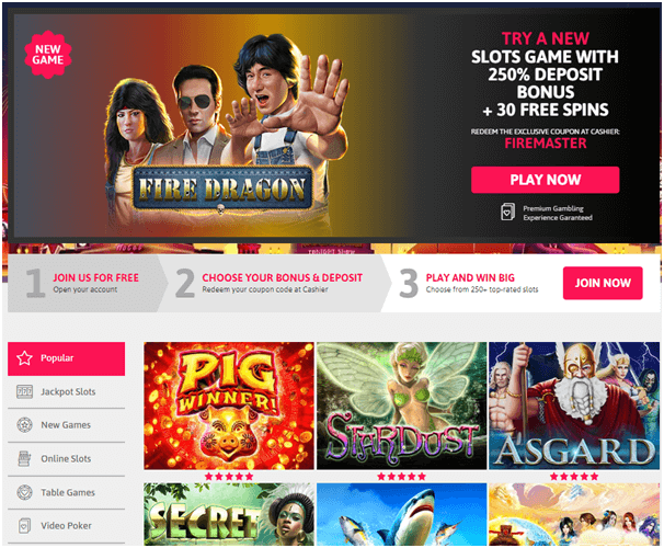 Fire Dragon slot coupon codes