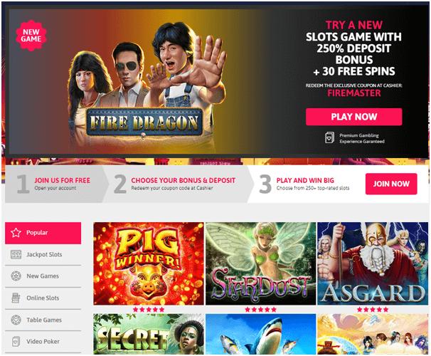 Fire Dragon slot coupon codes
