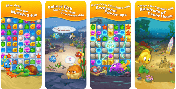 Fishdom the game app to download