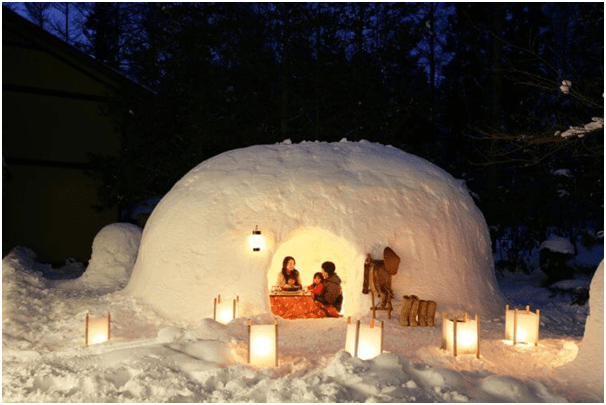 Stay in Igloo on your Valentine day