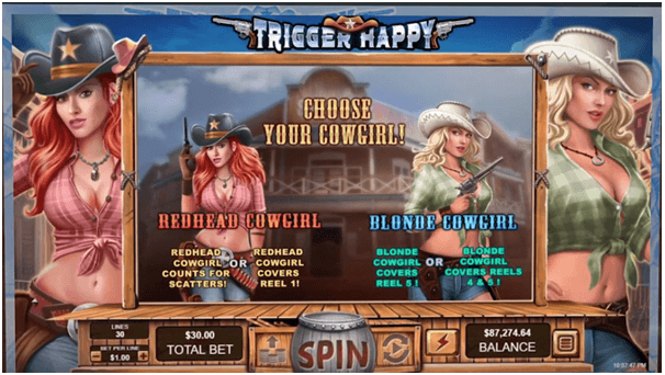 How to play Trigger Happy Slot