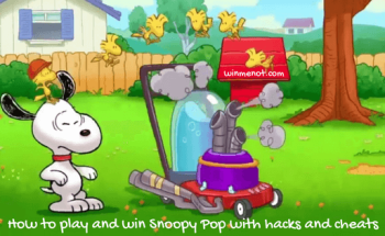 How to play and win Snoopy Pop with hacks and cheats