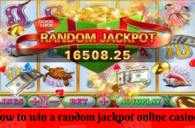 How to win a random jackpot online casino