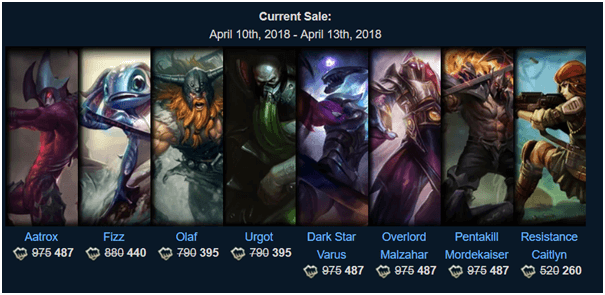 Where to get League of Legends Skins