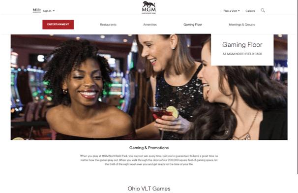 MGM casino Ohio