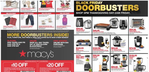 Black Friday Deals at Macy Store