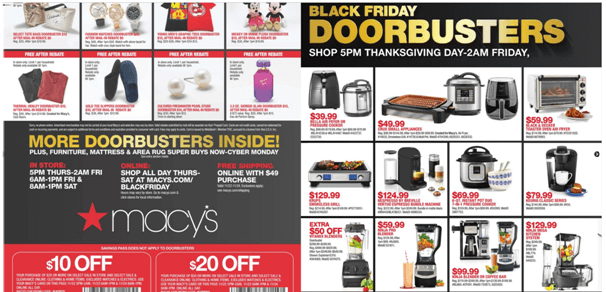 Black Friday Deals at Macy Store