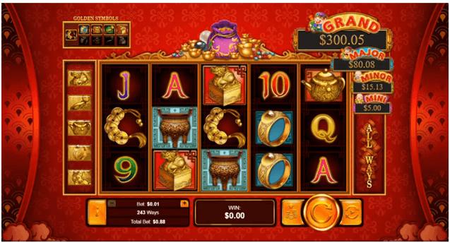 Plentiful treasure new slot