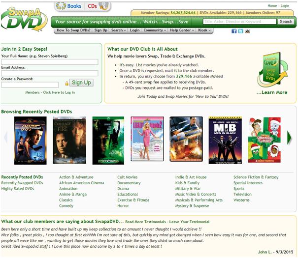 Swap-a-dvd