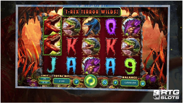 Trex slot how to play