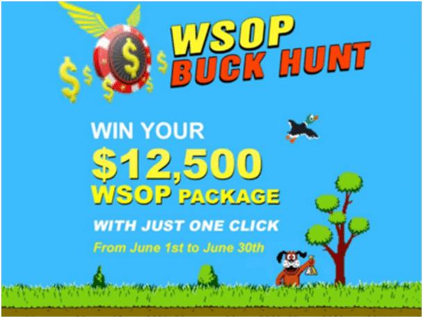 WSOP Buck Hunt