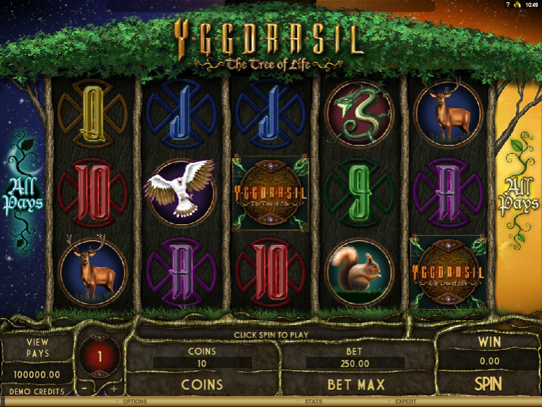 Ygdrassil The Tree Of Life - SLOT GAME
