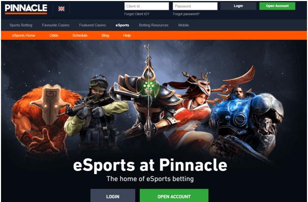 Pinnacle Online Esports Casino