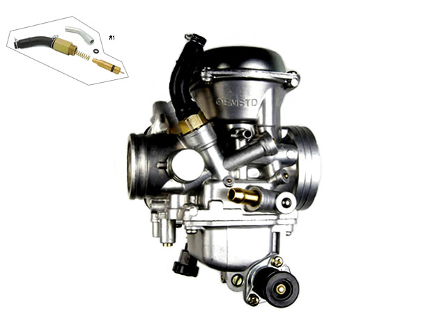 Honda TRX 300 FW Fourtrax Carburetor 2WD 4WD 1993-2000 ATV