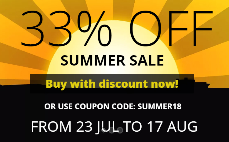 WinNc 8.3 sale 33 % off