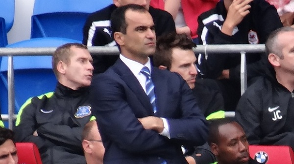 Roberto Martinez looking to build for the future at Everton
