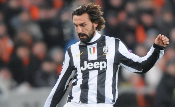 Andrea Pirlo was man marked out of the game by Park in the Champions League