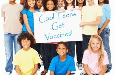 Cool Teens Get Vaccines