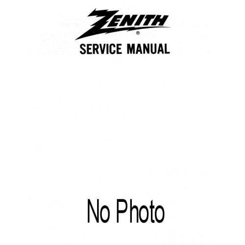 Zenith Service Manual Royal 26 & 28