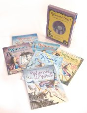 Winnie the Witch 6 Book & 2 CD Collection